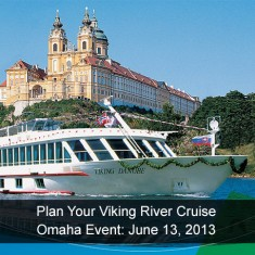 Viking River Cruise Presentation - Omaha, Nebraska - Travel and Transport, Inc.