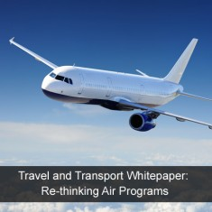 Travel and Transport Whitepaper: Re-thinking Air Programs